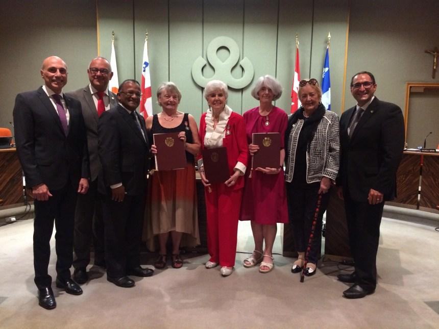 Trois Laurentiennes honorées pour leur bénévolat