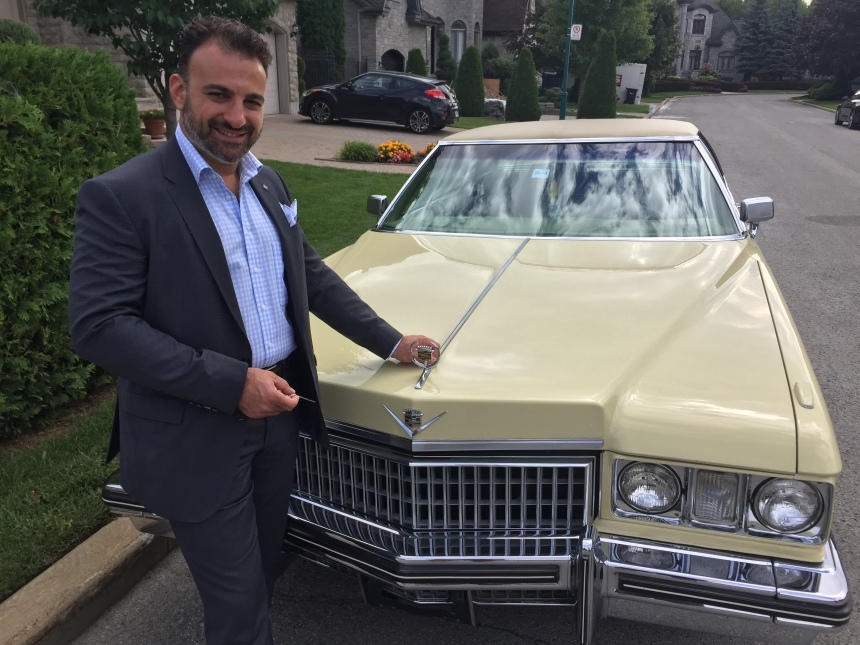 Selling a piece of automotive history in Saint-Laurent