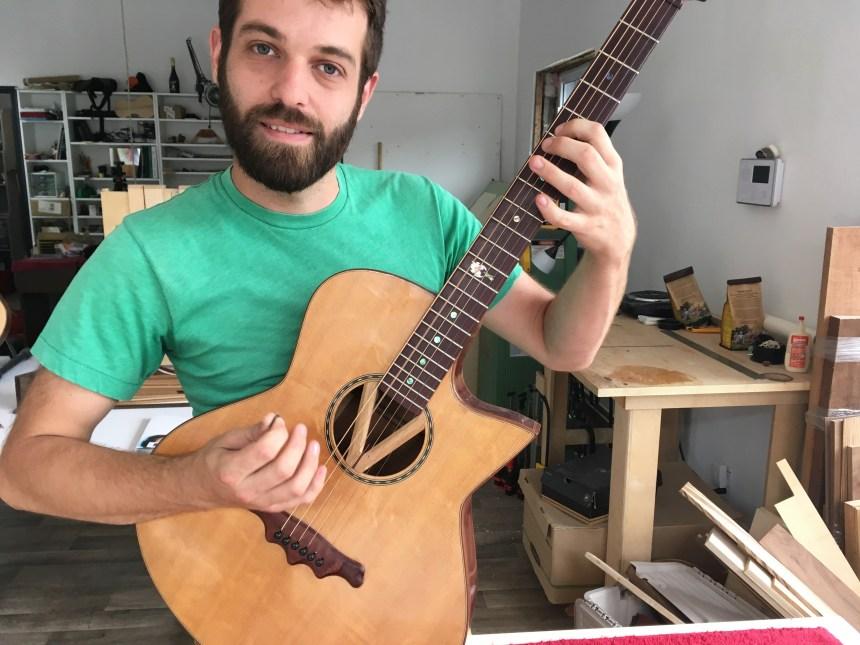 Un jeune luthier s'établit dans Hochelaga-Maisonneuve