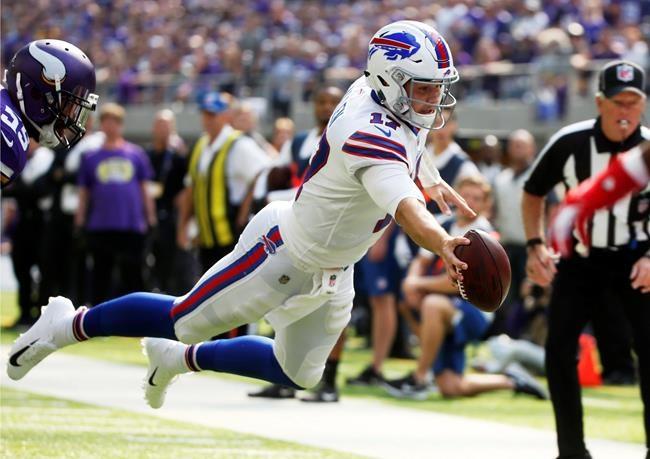 Josh Allen et les Bills se moquent des Vikings
