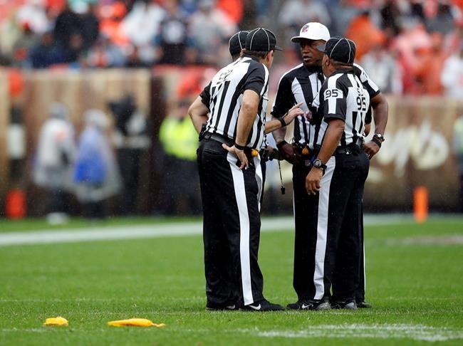 La route des arbitres jusqu'à la NFL