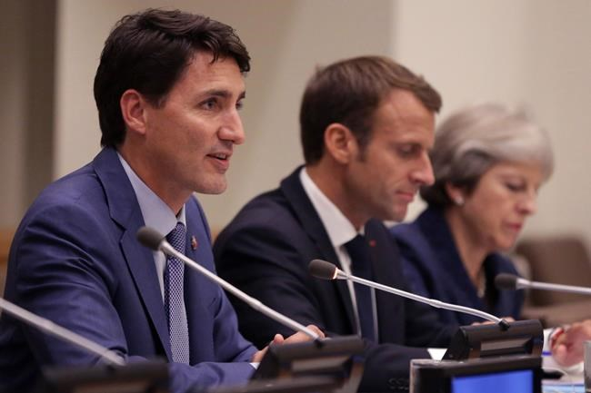 Trudeau poursuit son offensive de charme aux Nations unies