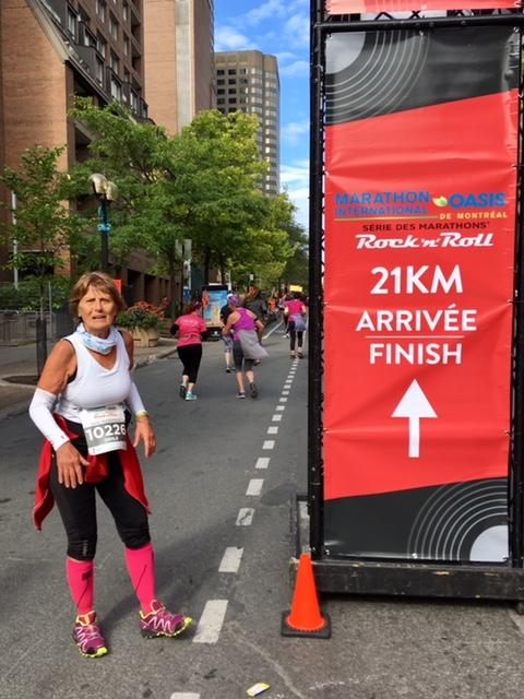 Un demi-marathon à 77 ans