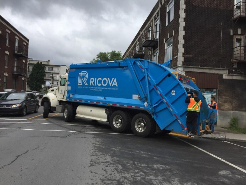 Ramassage des ordures sous surveillance