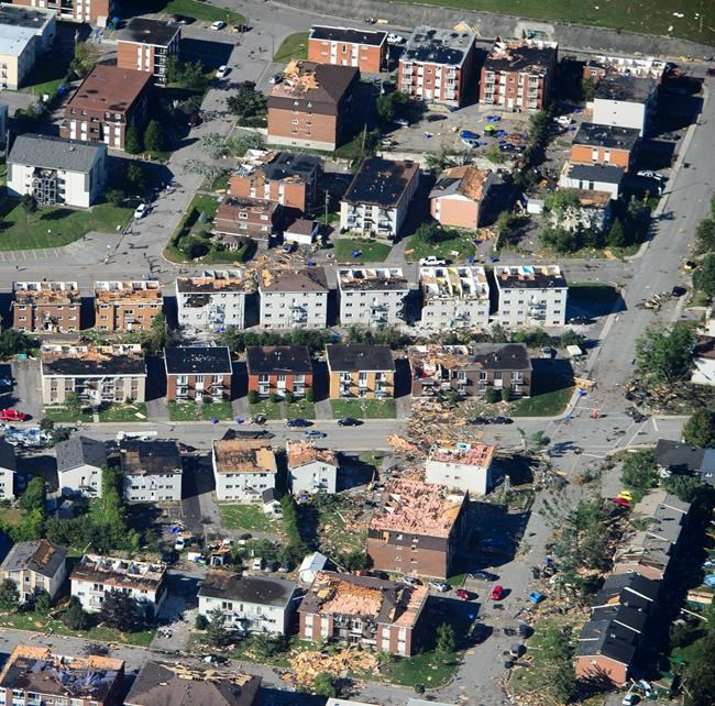 Tornade à Gatineau: 799 sinistrés selon la Croix-Rouge