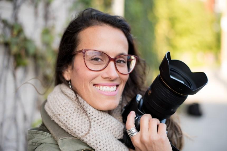 Verdun: le sourire de la photographe
