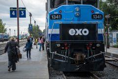 Trains: l'interruption sur la ligne Candiac se poursuivra lundi, confirme exo