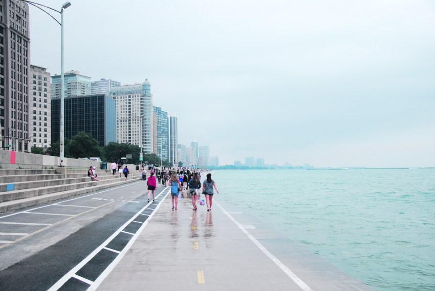 Entraîner ses muscles (et son estomac) dans la ville des vents
