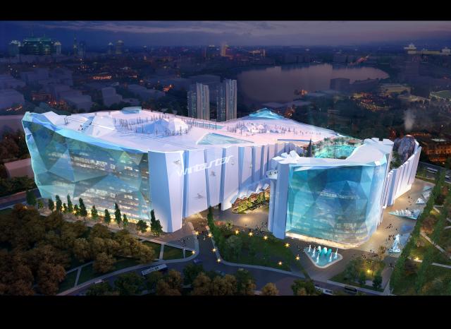 La plus grande station de ski intérieure ouvrira à Shanghai en 2022