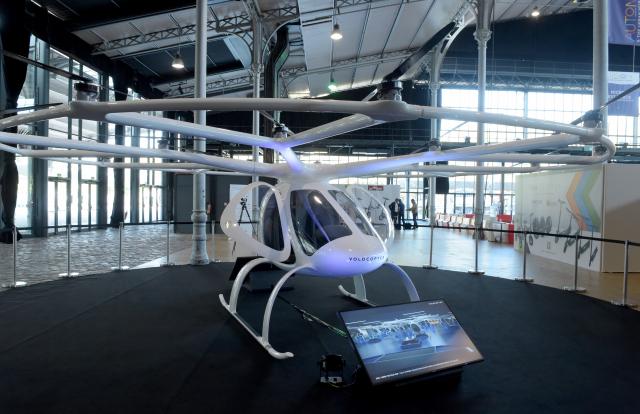 Un taxi volant électrique testé à Singapour en 2019
