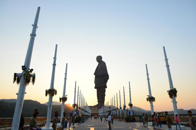 La plus haute statue du monde inaugurée en Inde