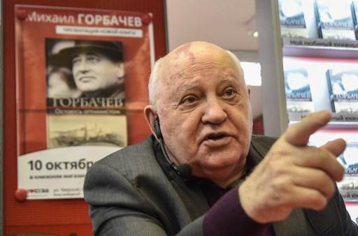 Retrait américain d'un traité nucléaire: Gorbatchev dénonce le «manque de sagesse» de Trump