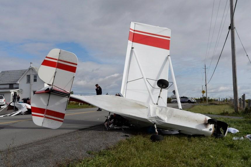 Un petit avion s'écrase près d'Ottawa