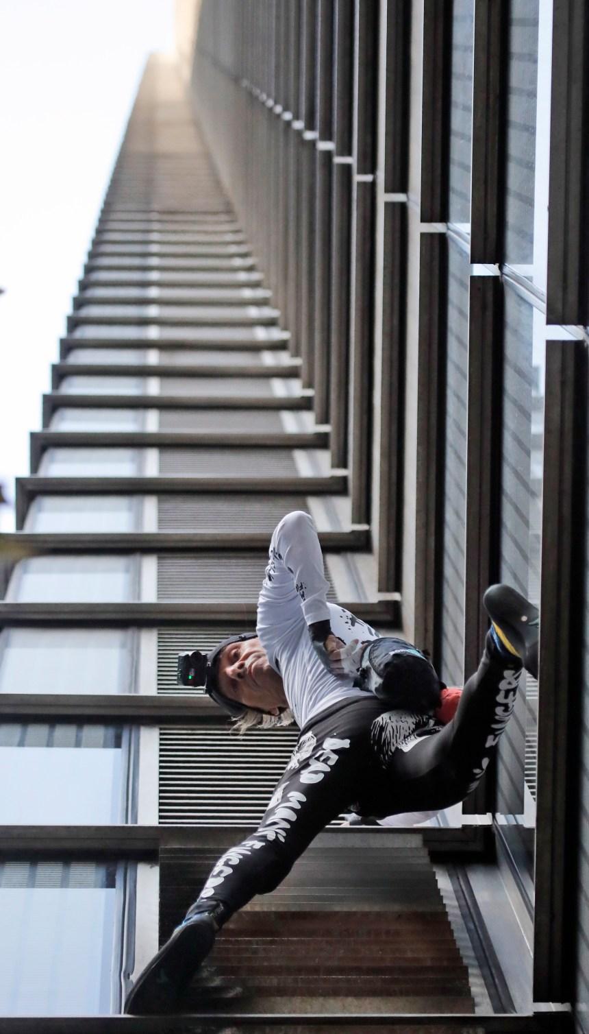 Le Spiderman français récidive à Londres