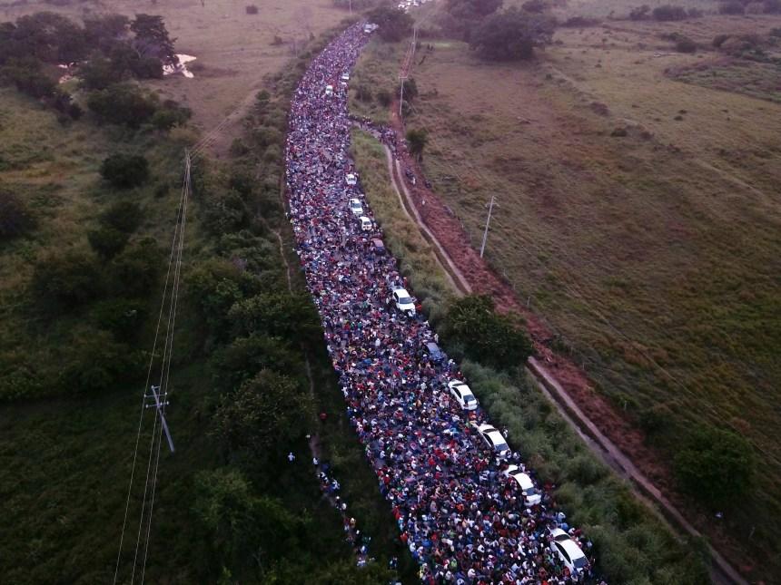 Caravane de migrants: Insécurités chroniques