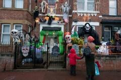 Les piétons plus à risque le soir de l'Halloween