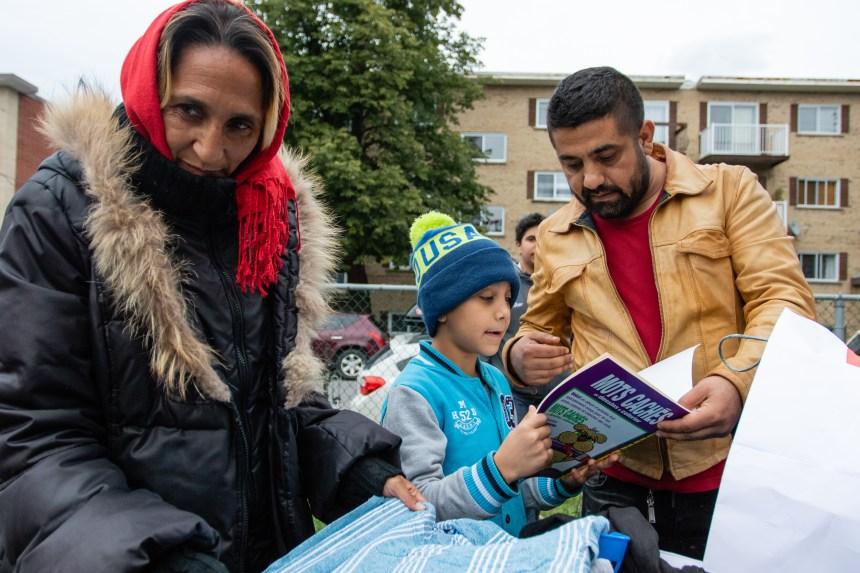 Des demandeurs d'asile laissés à eux-mêmes