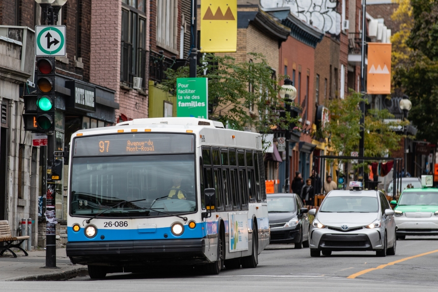 Le réseau de transports montréalais très perturbé ce vendredi