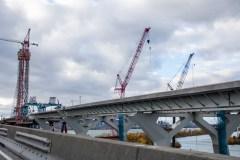 Le nouveau pont nommé Samuel-De Champlain