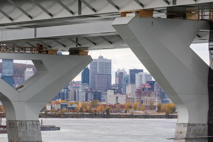 Pont Samuel-De Champlain: de légers retards dans la finition des travaux
