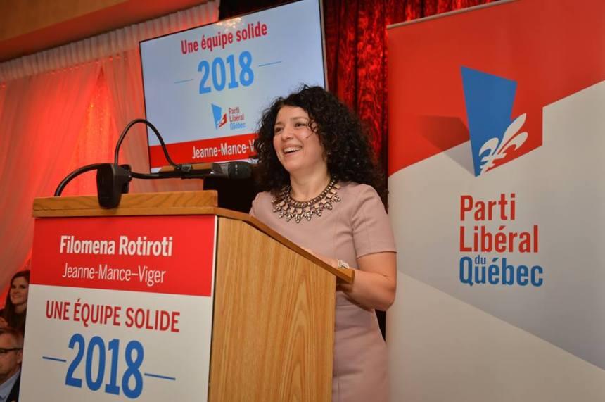 Filomena Rotiroti : le PLQ doit rebâtir sans céder à la panique