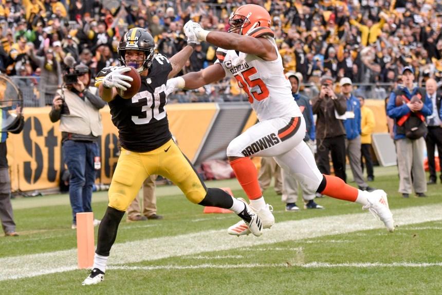 Les Steelers battent les Browns 33-18