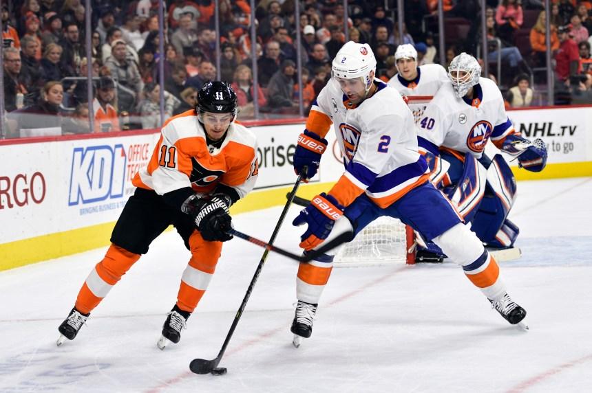 Les Islanders battent facilement les Flyers 6-1