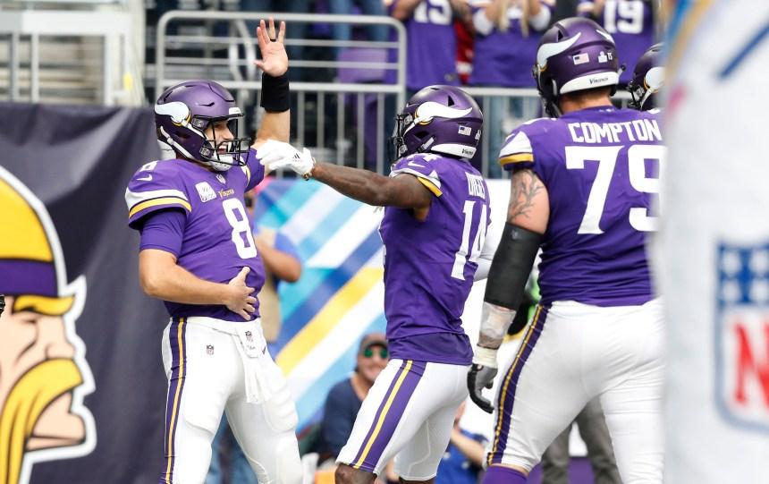 Murray ravive l'attaque au sol des Vikings