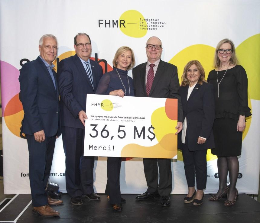 Campagne de financement: l'HMR atteint ses objectifs