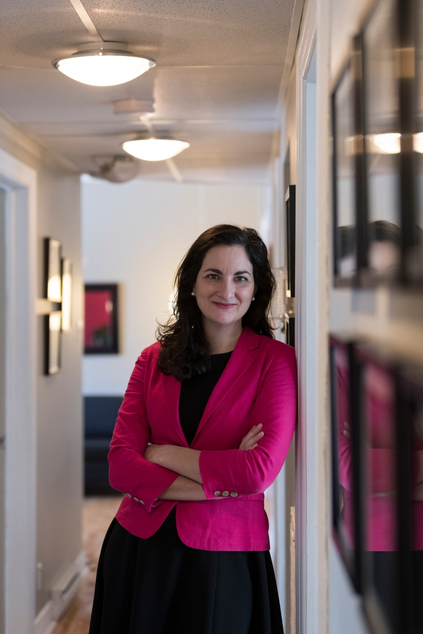 Marie Montpetit porte-parole de l'environnement