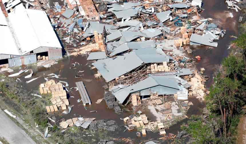 Ouragan Michael: le bilan monte à 11 morts