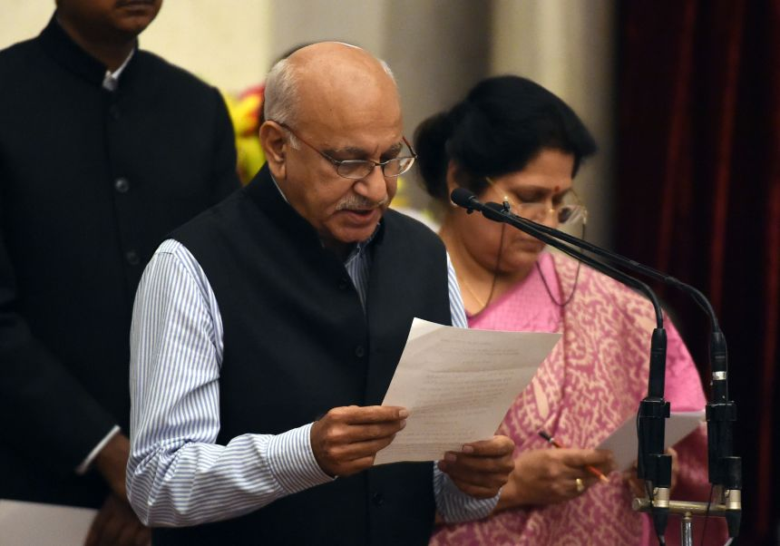 Première victoire de taille pour #MoiAussi en Inde avec la démission d'un ministre