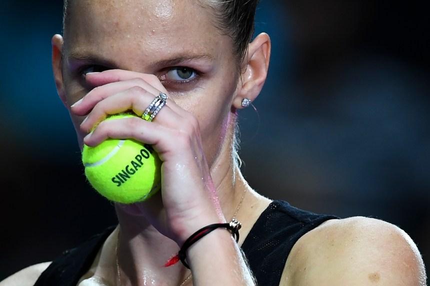 Finales de la WTA: Pliskova atteint le carré d'as