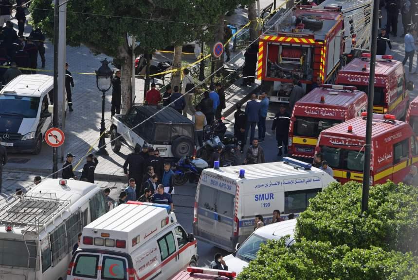 Tunisie: Un attentat suicide fait au moins 15 blessés
