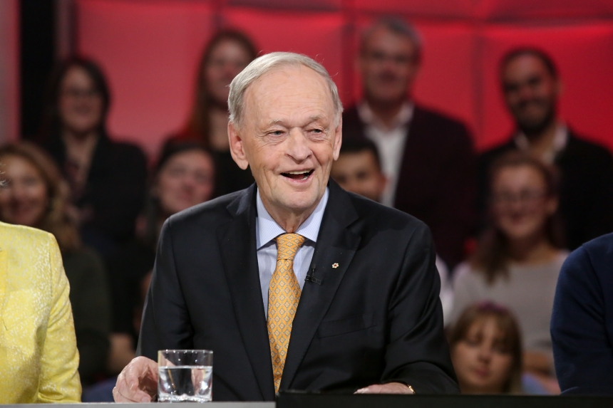 Jean Chrétien à TLMEP: «Si on parle encore français, c'est parce que le Canada existait»