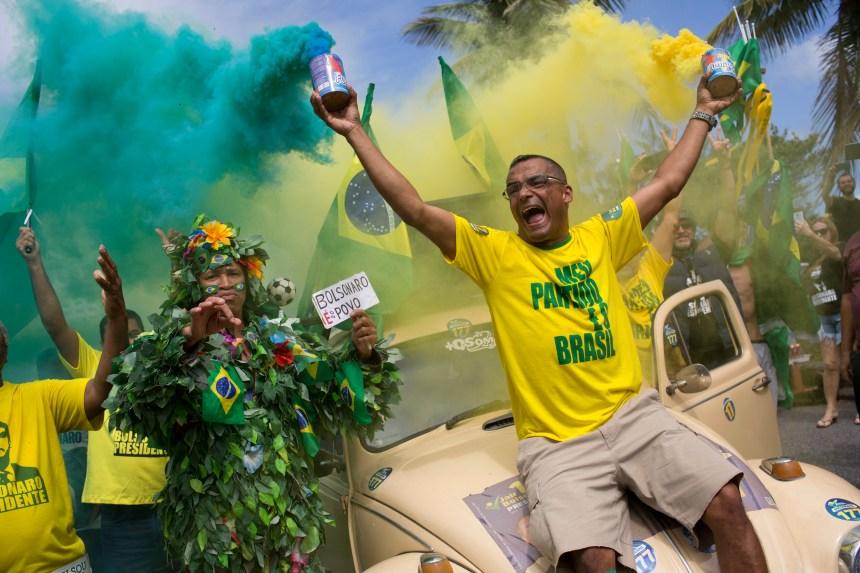 L'extrême droite l'emporte au Brésil