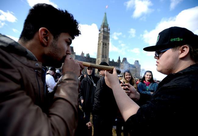 Cannabis: le Québec sous la moyenne nationale