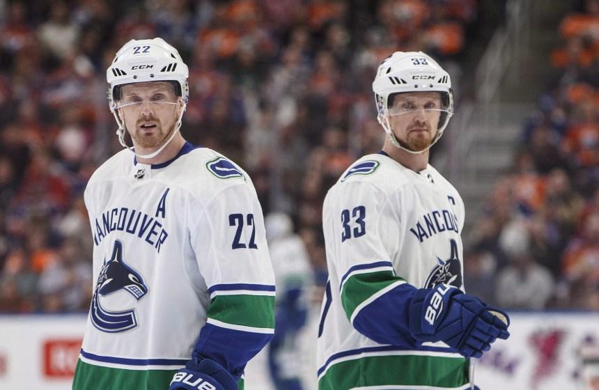 Les Canucks retireront le chandail des frères Sedin
