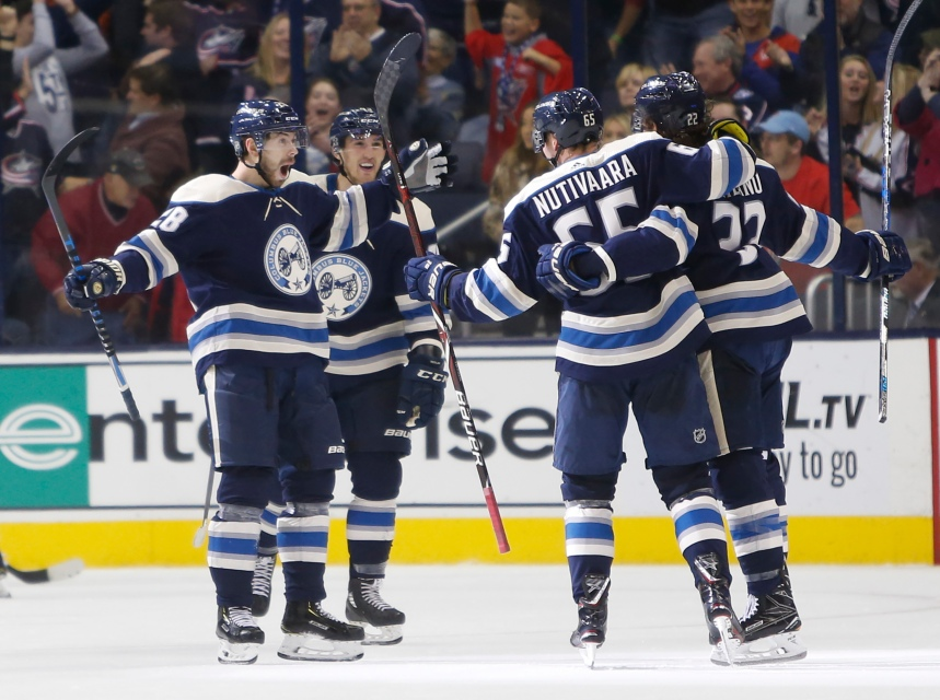 Les Blue Jackets battent les Flyers 6-3