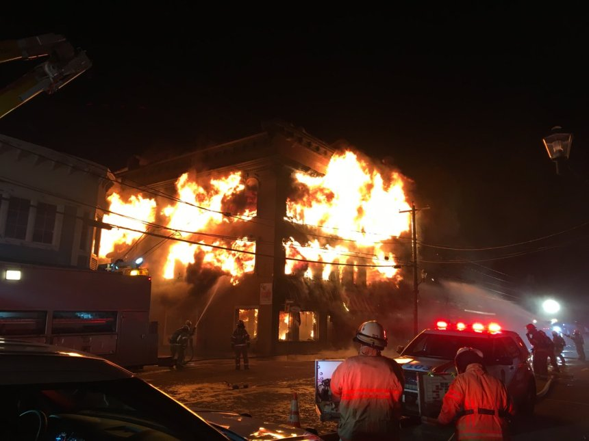 Incendie à Magog: 26 personnes à la rue