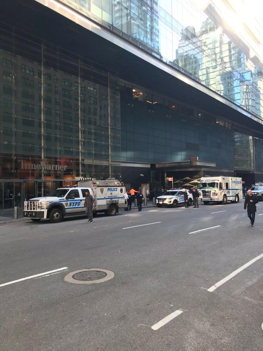 Colis suspect: Le siège de CNN à New York évacué