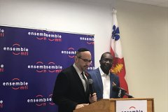 Josué Corvil est candidat dans St-Michel pour Ensemble Montréal