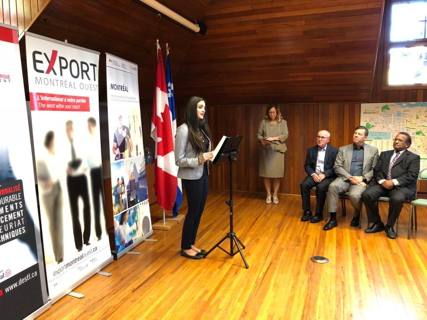 À Saint-Laurent, la réussite passe par l'exportation