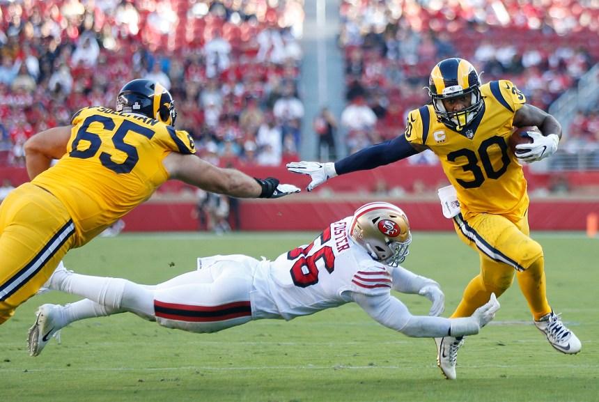 Todd Gurley et les Rams s'amusent contre les 49ers