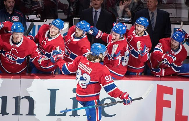 Victoire convaincante du Canadien sur les Red Wings