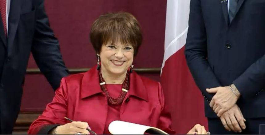 Assermentation de la députée libérale de Marguerite-Bourgeoys