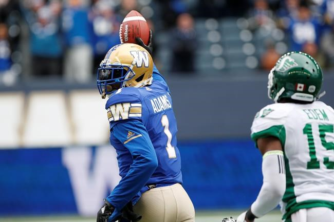 Les Blue Bombers blanchissent les Roughriders 31-0