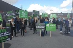 Inquiets du centre de compostage à Saint-Laurent