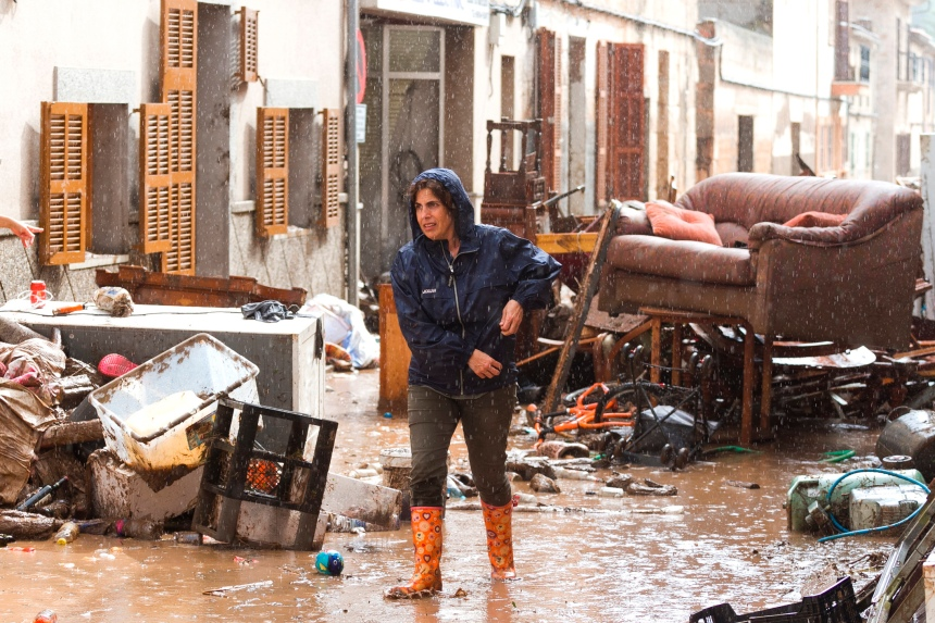 Inondations à Majorque: dix morts et un enfant porté disparu