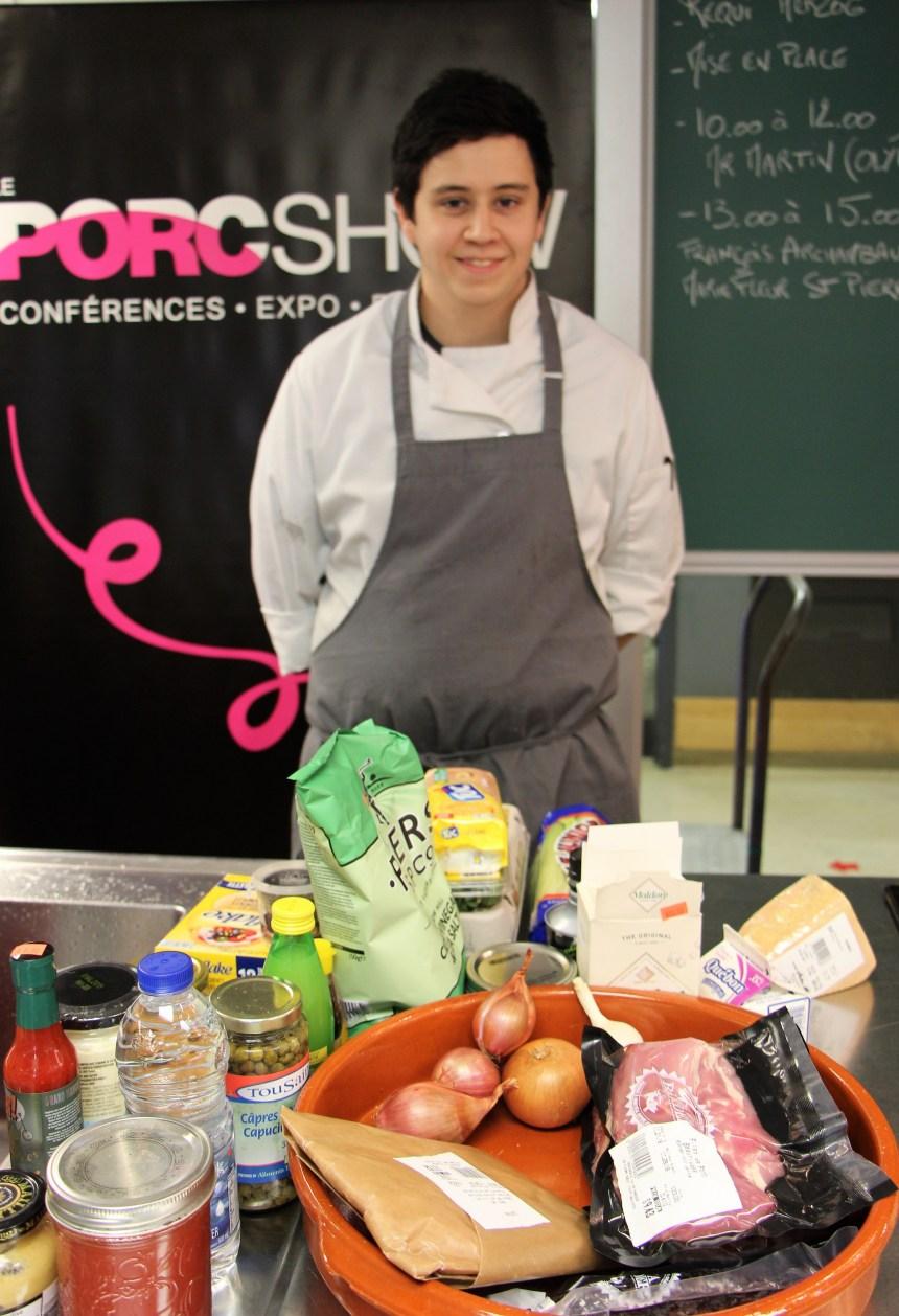 Cuisiner la viande de porc à l'ITHQ